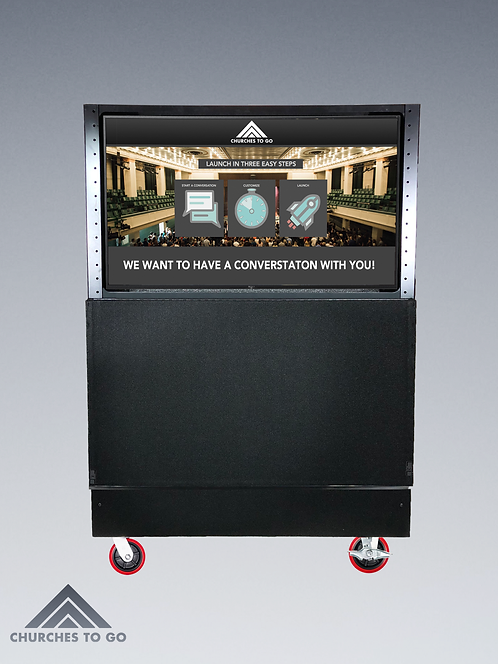 "PORTABLE 48"" TELEVISION CART"