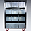 Thumbnail: 4 SHELF STORAGE CART WITH SIDE UPGRADE