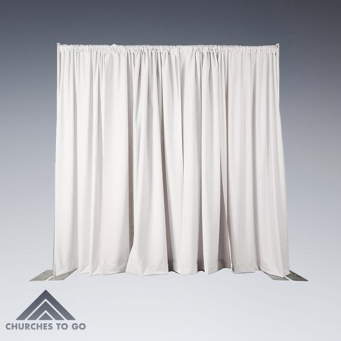 Drape Polyester White