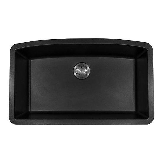 BLACK QUARTZ SINGLE BOWL 3219