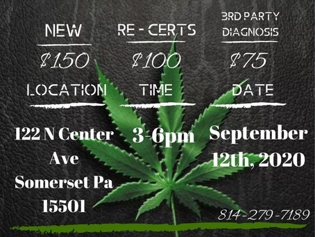 9/12 Coffee & Cannabas Event
