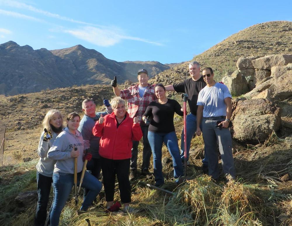 The Ritz-Carlton Rancho Mirage volunteer crew