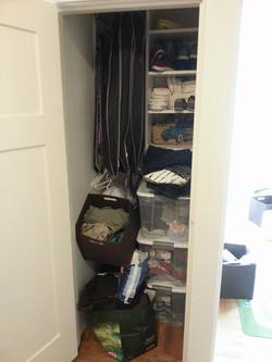 Playroom Closet - Before