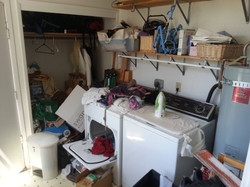 Laundry Area - Before