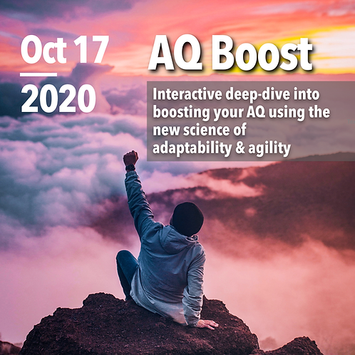 AQ Assessment & AQ Boost Live - October 2020