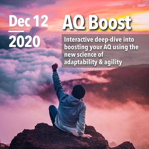 AQ Assessment & AQ Boost Live - December 2020