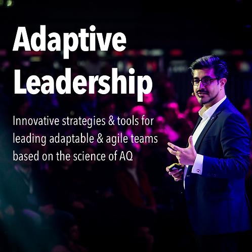 Adaptive Leadership (Aug 28)