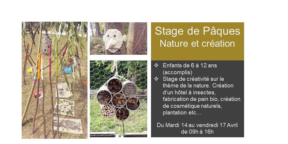 Stage pour Pâques