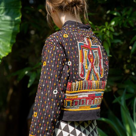 Handembroided Bolero jacket