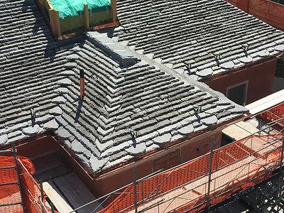 Costruzione tetti in piode