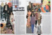 Fashion and Art magazine published article