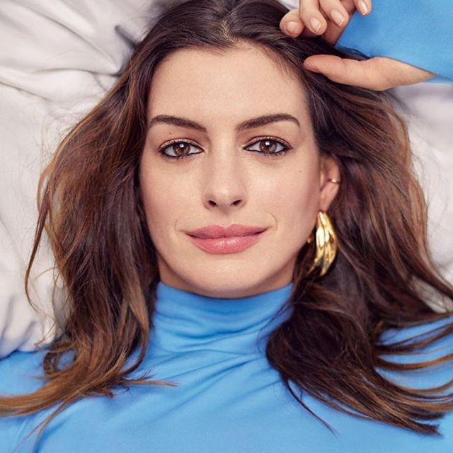 Anne Hathaway by Vogue Japan