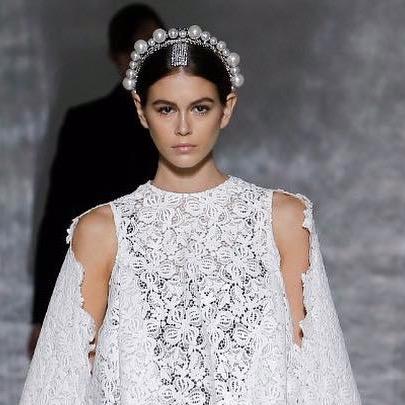 Kaia Gerber for Givenchy
