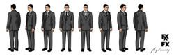 Archer - Default Suit Turnaround