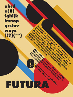Futura Poster