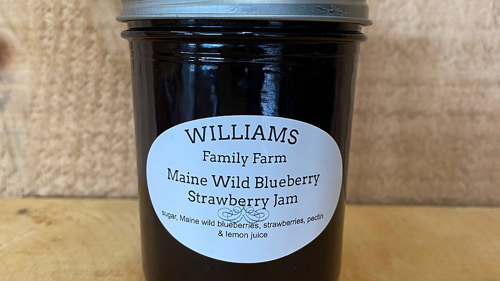 Blueberry Strawberry Jam - 8oz