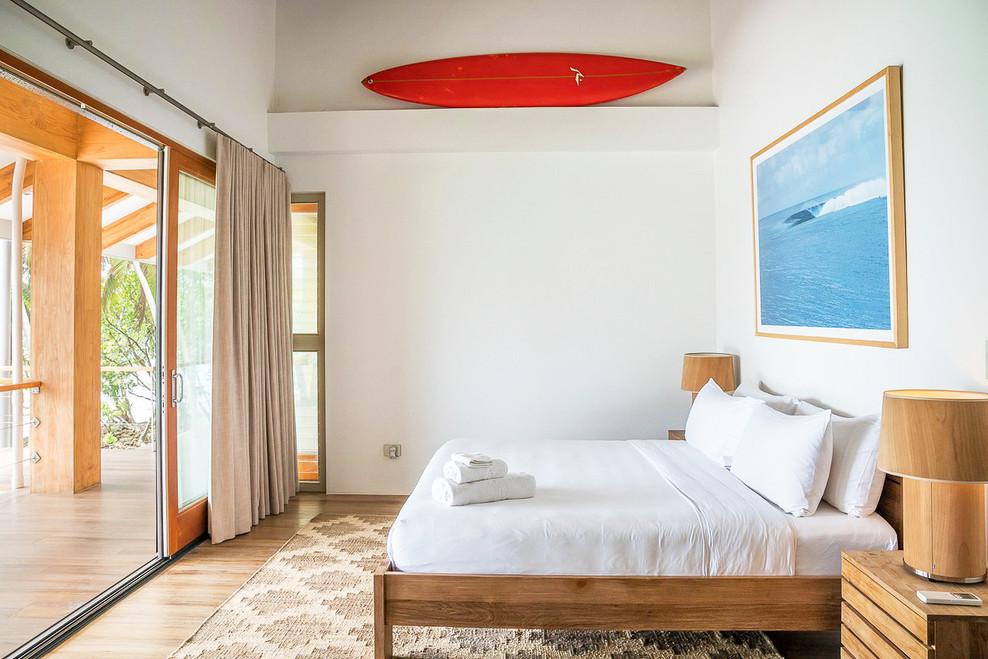 preeeninc beran island upstairs bedroom