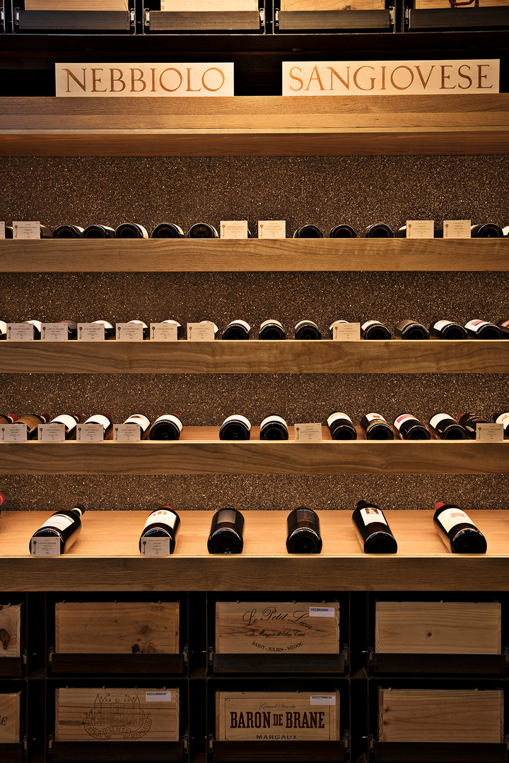 preeninc paider tesse wine shop close up