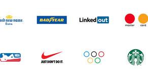 Novos logos para Nike, Mastercard e LinkedIn