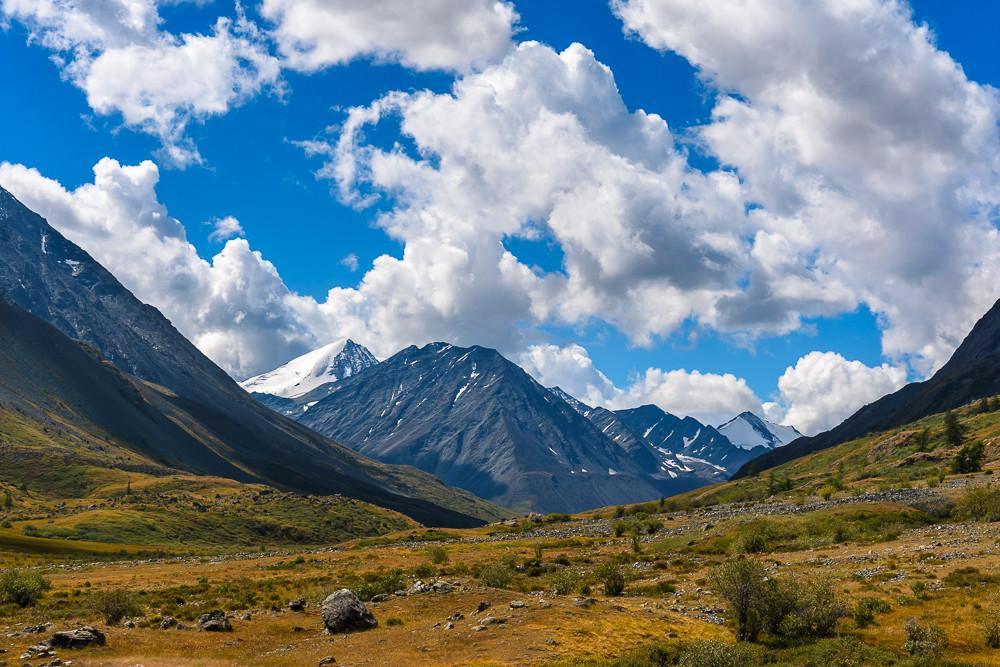 И снова долина Караоюк с вершинами Южно-Чуйского