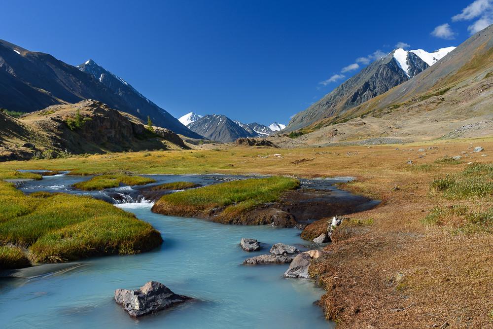 На реке Караоюк