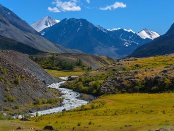 Летнее путешествие на Алтай.  В долину Караоюк