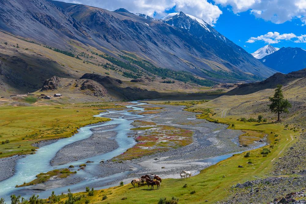 Долина реки Караоюк