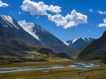 Летнее путешествие на Алтай.  В долине Акколь