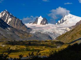 Летнее путешествие на Алтай. Софийский ледник