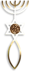 First Century Messianic Seal found in Jerusalem, The Menorah, The Star of David, The Fish