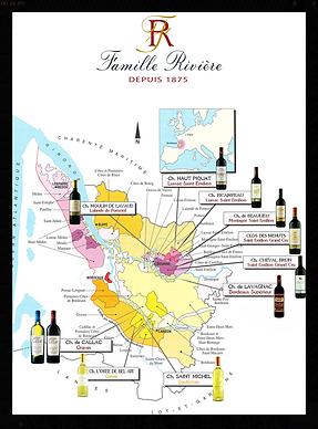 Maison Rivière est une société familiale à Saint Emilion depuis 1875. Producteur et négociant en vins, nous exploitons 90 hectares en plein cœur du vignoble Bordelais.