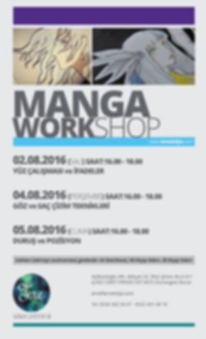manga workshop, Bursa