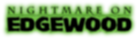 Nightmare on Edgewood Logo