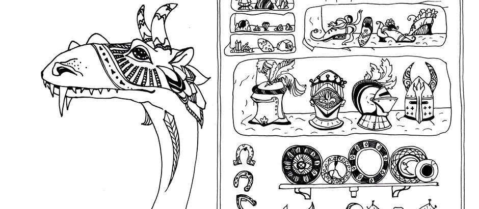 """Угги и Теодора. Сказки из серии """"Драконы и принцессы"""""""