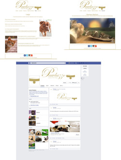 Website and Facebook page
