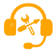 technical-support-orange-icon-service-ve
