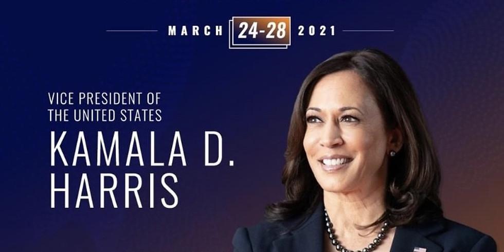 Vice President Kamala Harris to open Black Women's Roundtable Women of Power National Virtual Summit