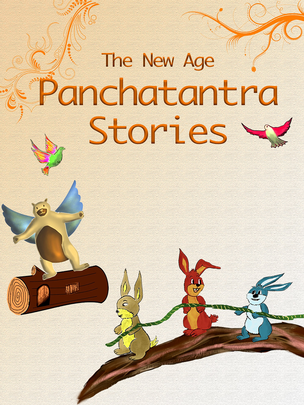 Mouse Princess and Space Animals: Panchatantra Stories with a twist