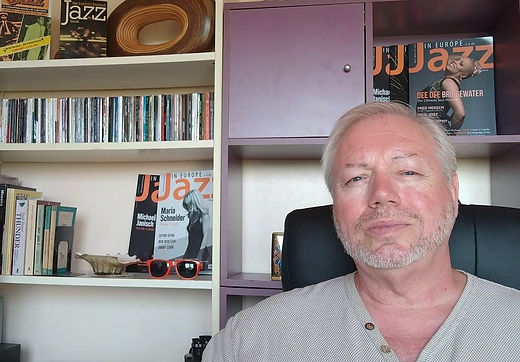 Nigel J eic of JazzinEurope website and
