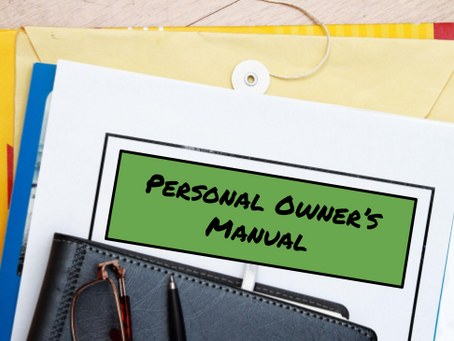 Build Your Personal Owner's Manual