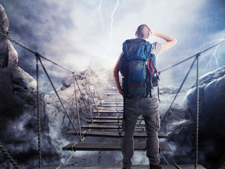 For Life & Leadership: If You're Scared, Practice Being Brave