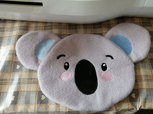 ITH Koala Face Zip Bag 6x10