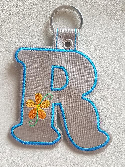 """""""R"""" Daisy Keyfob"""