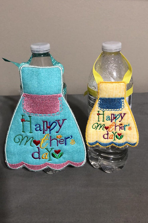 Mother's Day Bottle Apron - (5x7)