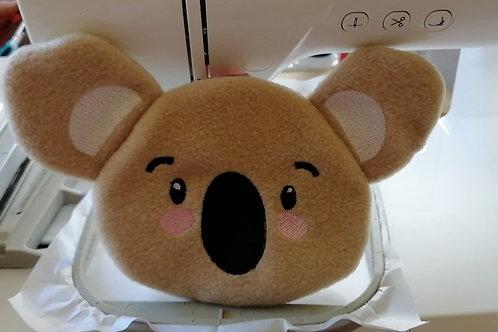 ITH Koala Face Zip Bag5x7