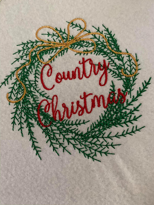 Country Christmas - All 5 sizes