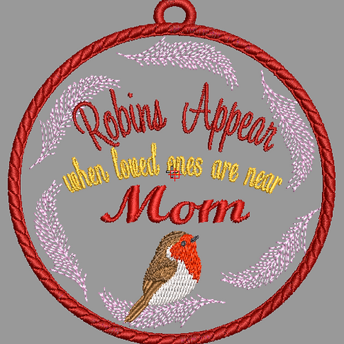Memorial Bauble Mom