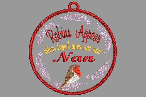 Memorial Bauble Nan