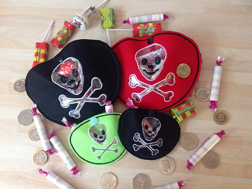 Treat Bags - Pirate Eye Patch