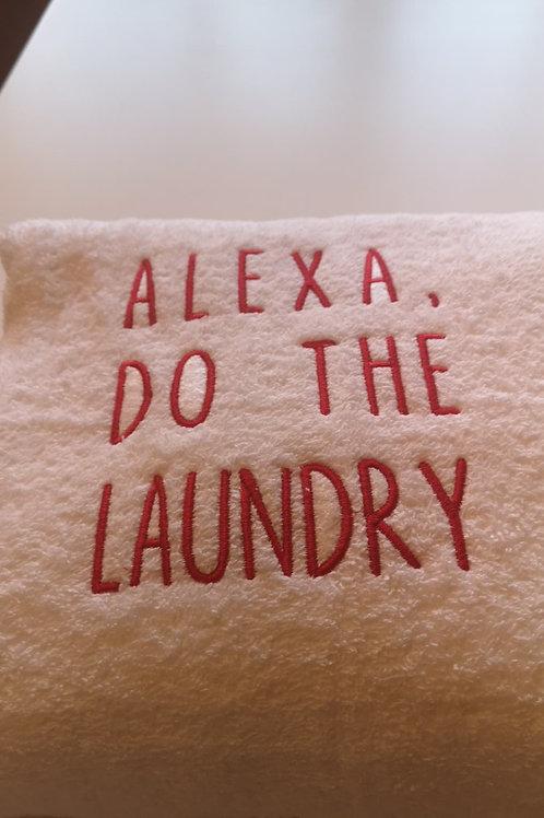 Alexa Dishes, Alexa Dinner, Alexa Laundry